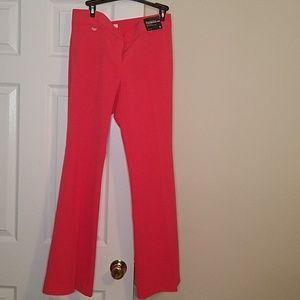 Coral dress pants